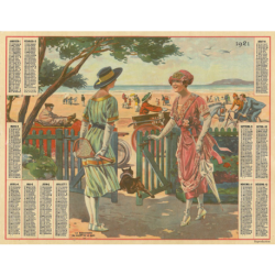 Reproduction d'époque 1921