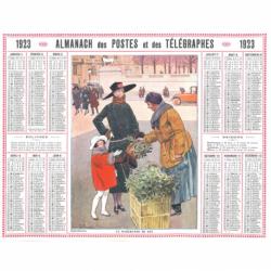 Reproduction d'époque 1923