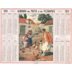 Reproduction d'époque 1924
