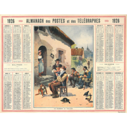 Reproduction d'époque 1926