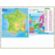 Sous-main éducatif Géographie PEFC