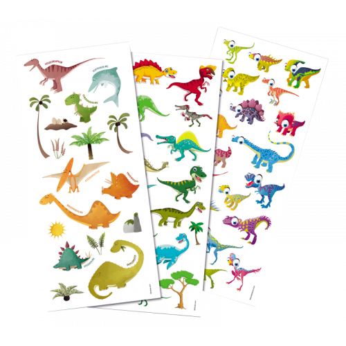 Gommettes Dinosaures