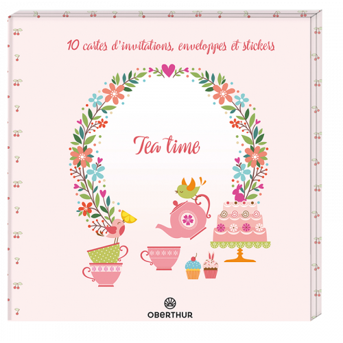 Carte d'invitation Tea Time