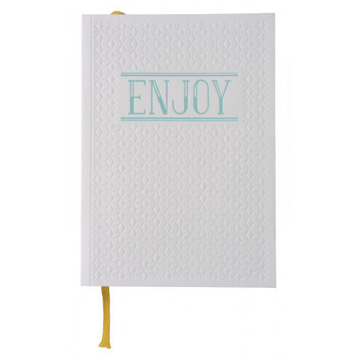 "Carnet Letterpress ""Enjoy"""