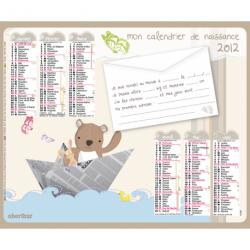 Calendrier de naissance 2012