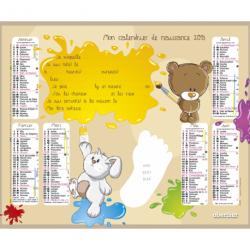 Calendrier de naissance 2013