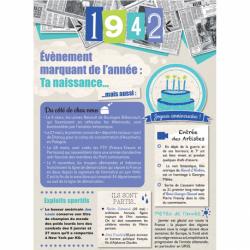 Carte anniversaire 1942