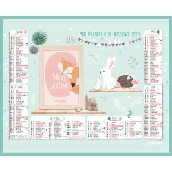 Calendrier de naissance 2019