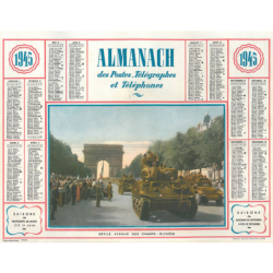 Reproduction d'époque 1945