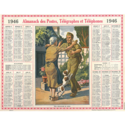Reproduction d'époque 1946