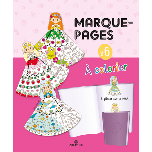 Marques-pages à colorier