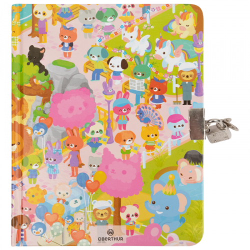 Journal Intime Lovely zoo