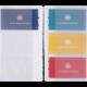 Recharge organiseur 17 porte-cartes